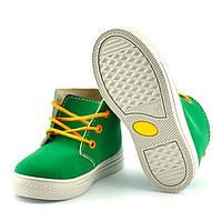 Ботинки детские Befado Funny, зеленые (26 р.)