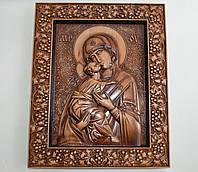 Икона Божией Матери Владимирская (300Х360х25 мм), фото 1