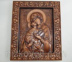 Икона Божией Матери Владимирская (300Х360х18 мм)