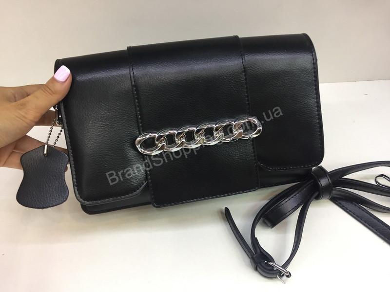 62109417ad41 Женская сумка из натуральной кожи с длинным плечевым ремнем арт 20120 -  Trendshops в Харькове