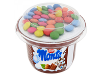 Шоколадно-орехово-молочный десерт Zott Monte с шоколадом 70г(Венгрия)