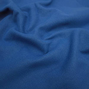 Пальтовая тканина кашемір синій електрик