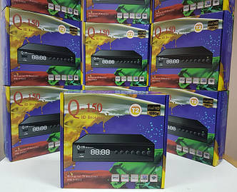 Цифровой эфирный DVB-T2 приемник приставка ресивер декодер тюнер Т2 Q-Sat Q-150