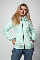 Женская демисезонная куртка. Код модели К-115-37-20. Цвет мята.