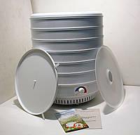 Электросушилка для фруктов и овощей Ветерок-2 с поддонами для жира и пастилы