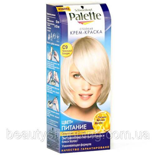 Краска для волос Palette C9 Пепельный Блонд
