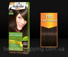 Стойкая краска для волос Palette Фитолиния 700 Каштановый