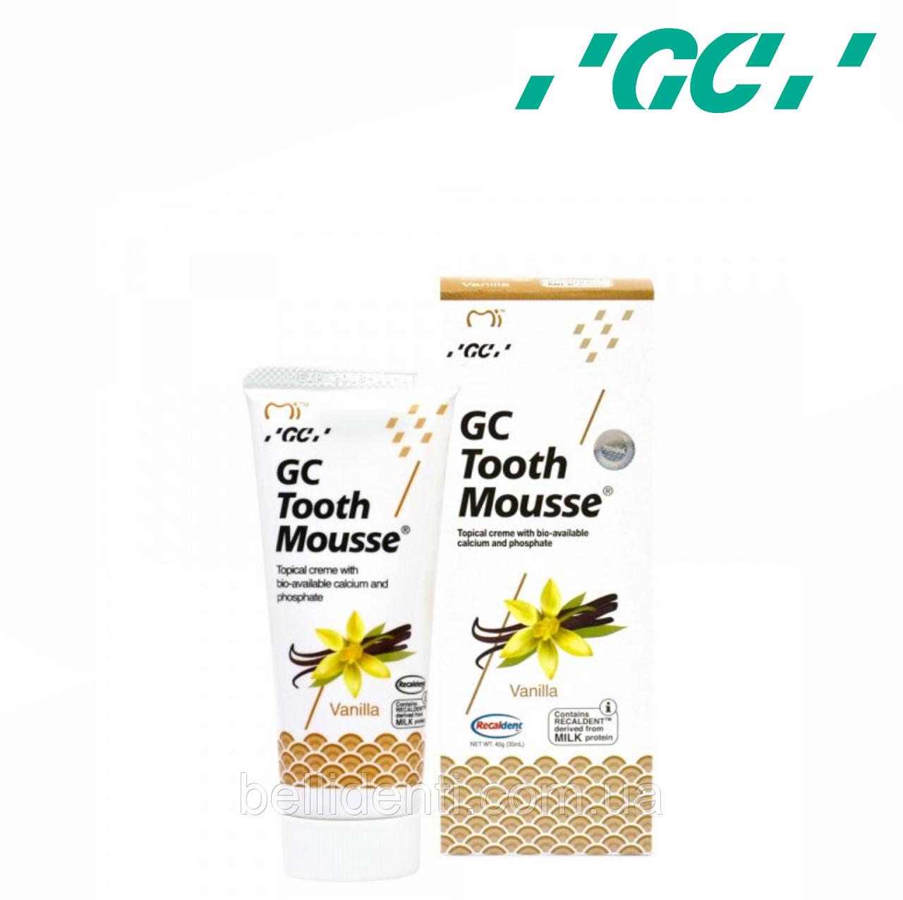 Крем для зубов GC Tooth Mousse Vannilla 35 мл