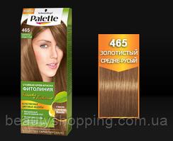 Краска для волос Palette Фитолиния 465 Золотистый средне-русый