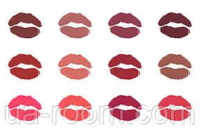 Набор жидких матовых помад Kylie Glamorous silky lipgloss (12 шт.), фото 2