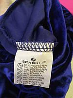 Велюровый костюм-тройка для девочек оптом, Seagull, 4-12 лет, арт. CSQ-52114, фото 5