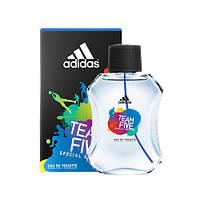 Adidas туалетная вода для мужчин Team Five 100 ml Испания