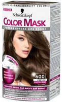 Краска для волос Palette Color Mask 600 Светло каштановый
