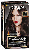 Краска для волос L'oreal Preference 4.01 Париж