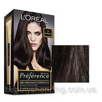Краска для волос L'oreal Preference 3 Бразилия