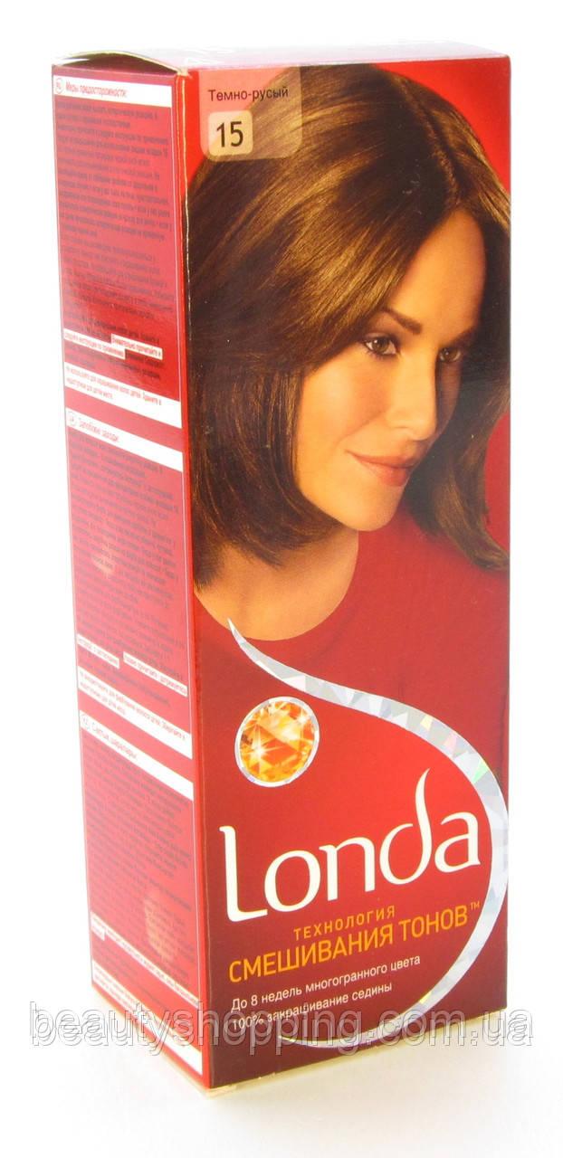 Краска для волос Londa 15 Темно Русый