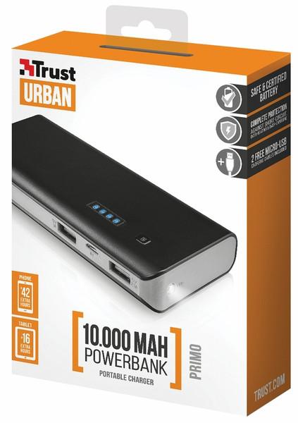 УМБ (Powerbank) Trust Primo 10000mAh чёрный
