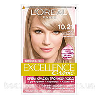 L'oreal Excellence Creme 10.21 Светло Русый