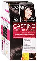 Краска для волос L'OREAL Casting 200 Чёрный Кофе