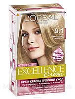 L'oreal Excellence Creme 9.1 Светло Русый Пепельный