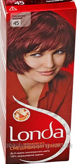 Краска для волос Londa 45 Гранатово Красный