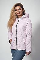 Женская демисезонная куртка. Код модели К-120-37-20. Цвет пудра.