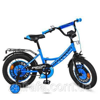 """Двухколесный велосипед Original boy 14"""" Голубой"""