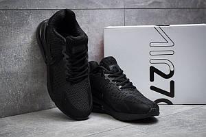 Стильные мужские кроссовки черного цвета  Nike Air 270 (Найк Аир 270) - реплика