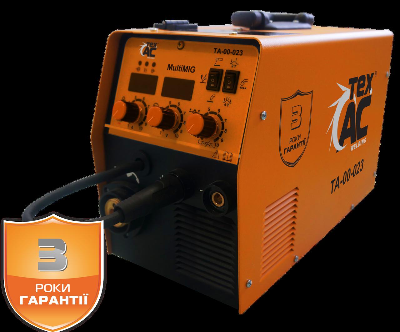 Сварочный аппарат ТехАС МIG/MAG/MMA/TIG ТА-00-023