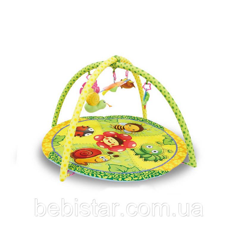 Развивающий коврик Lorelli Сад с мягкой дугой