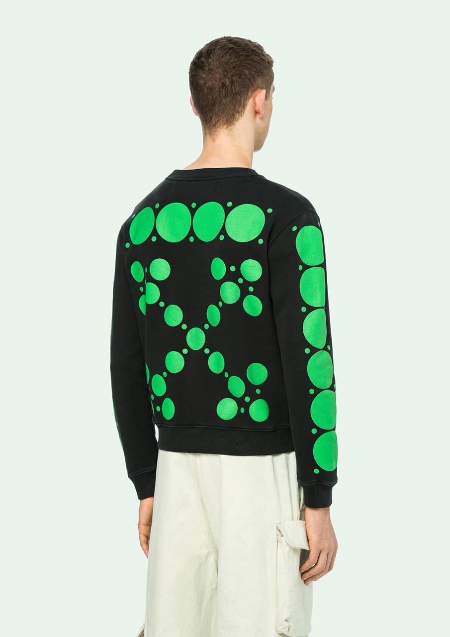 Свитшот OFF WHITE DOTS CREWNECK