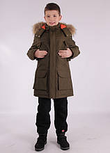 "Куртка зимняя для мальчика ""Джеронимо"""