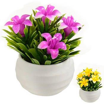 Искусственные цветы в горшке STENSON 9 см (R82236)