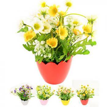 Искусственные цветы в горшке STENSON (R82879)