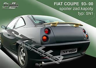 Спойлер на багажник тюнинг Fiat Coupe