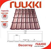 Металлочерепица Ruukki Decorrey Grand 0.5 мм