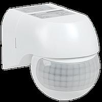 Датчик движения ДД 015 белый 800Вт 180гр 12м IP44 IEK (LDD10-015-800-001)