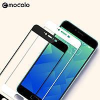 Захисне скло Xiaomi Redmi 4x Full Cover (2.5D) 0.33 mm прозоре (золоте) Mocolo