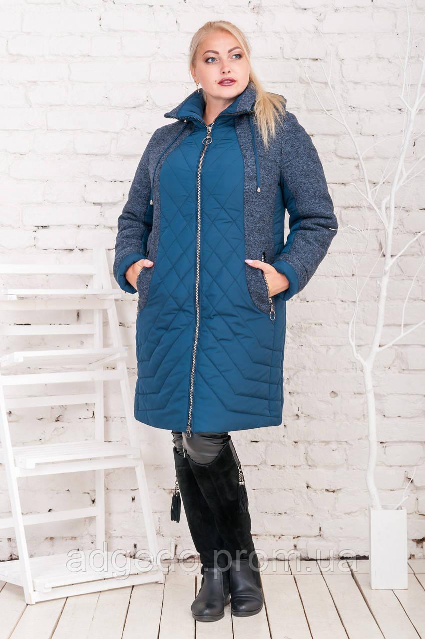Пальто зимнее женское больших размеров оптом и розницу по низким ... 49ab8634bb48c