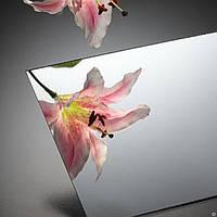Зеркальный полистирол серебро 2*1м. Возможна порезка