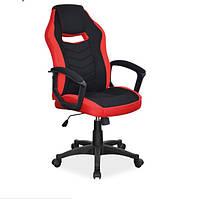 Геймерське поворотне крісло для ігор Camaro czerwony Signal