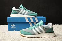 Мужские кроссовки Adidas Inki Green (реплика)