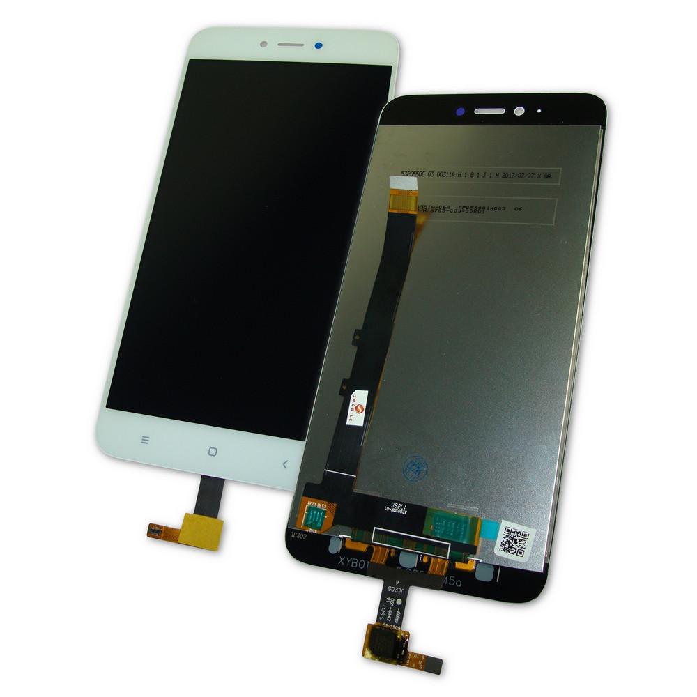 Дисплей Xiaomi Redmi Note 5A с тачскрином белый Оригинал