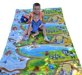"""Дитячий розвиваючий килимок HappyKinder """"Disney Heroes XXXL"""" 3000х1200х8 мм (KD-XXXL)"""