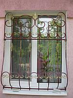 Решетка на окно металлическая кованая