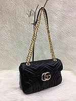 Сумка-клатч на цепочке Gucci Гуччи цвет черный, фото 1