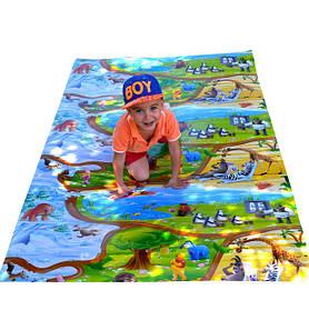 """Дитячий розвиваючий килимок HappyKinder """"Disney Heroes XL"""" 2000х1200х8 мм (KD-XL)"""