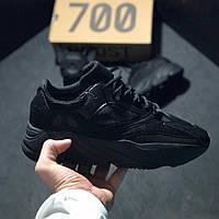 Мужские кроссовки Кроссовки Adidas Yeezy Boost 700 Black (реплика)