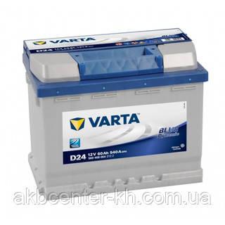 Автомобильные аккумуляторы  VARTA 6CT-60Aз 540A R