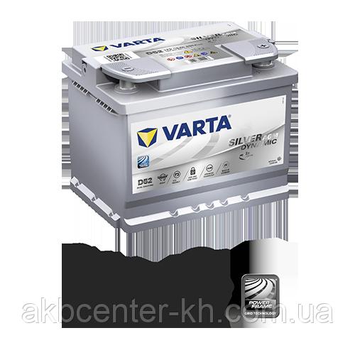 Автомобильные аккумуляторы VARTA 6CT-60Aз 680А R Silver Dynamic AGM